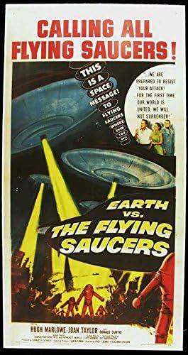 Earth vs.the Flying Saucers Movie Poster Art 8x10 11x17 16x20 22x28 24x36 27x40