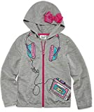 JoJo Siwa Hoodie for Girls Pink Bow Hooded Jacket Coat Lightweight (10/12)
