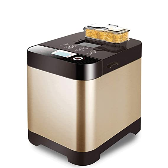 Digital Bread Maker con dispensador de Ingredientes automáticos -18 Funciones: Amazon.es: Hogar