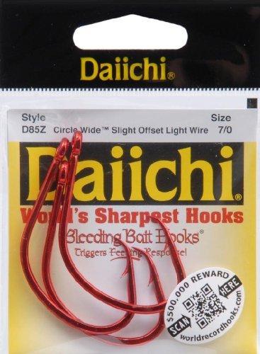 - Daiichi D85Z-7/0 Circle Chunk Wide H