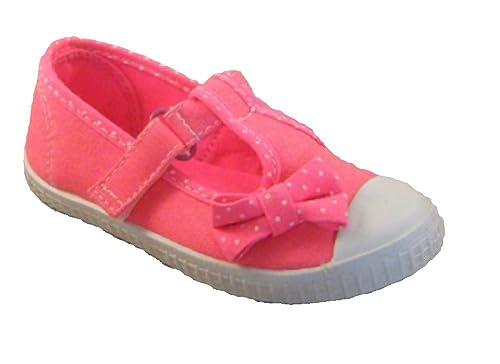 Zapatillas de Lona para Niña: Amazon.es: Zapatos y complementos