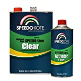 Speedokote SMR-130/95 - Automotive Clear Coat Fast Dry 2K Urethane, 4:1 Gallon Clearcoat Kit with Extra Slow Activator