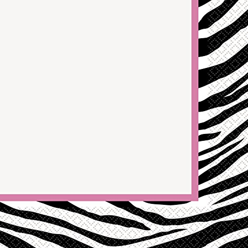 Party Decorations Zebra (Zebra Print Party Napkins,)