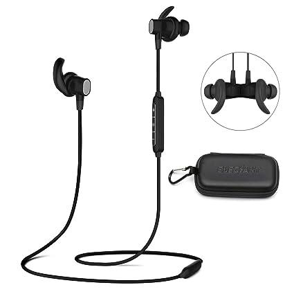 Auriculares Deportivos Bluetooth, ELEGIANT Auriculares Inalámbricos A Prueba de Agua Impermeable con MicrófonoHi-Fi