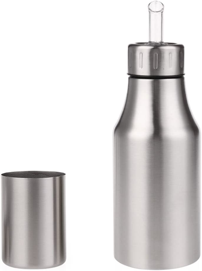 MULTIPLY-X Botella de dispensador de Aceite contenedor de Aceite de Oliva//Aceite Vegetal sin Goteo