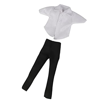 Amazon.es: Accesorios de Brillantes T-shirt Pants Negros ...