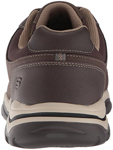Skechers Mens Relaxed Fit-Rovato-Soloven Oxford Brown CCJ55R