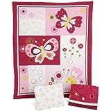 Pink Butterfly 3-piece Bedding Set