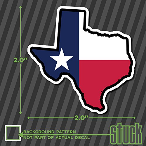 Full Graphics Hard Hat - SMALL Texas State Shape Flag -2