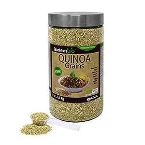 Semillas de Quinoa Natural NortemBio 1,4 kg, Calidad Premium. Excelente Fuente de Proteínas y Vitaminas.