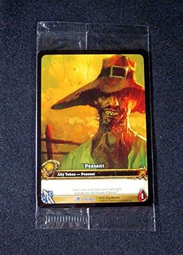 Promo Token - (3) World of Warcraft WoW TCG Peasant Token #16 - Ally Token Promo Cards