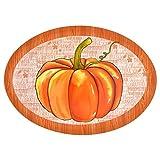 Autumn Harvest Serving Platter (Pumpkin)