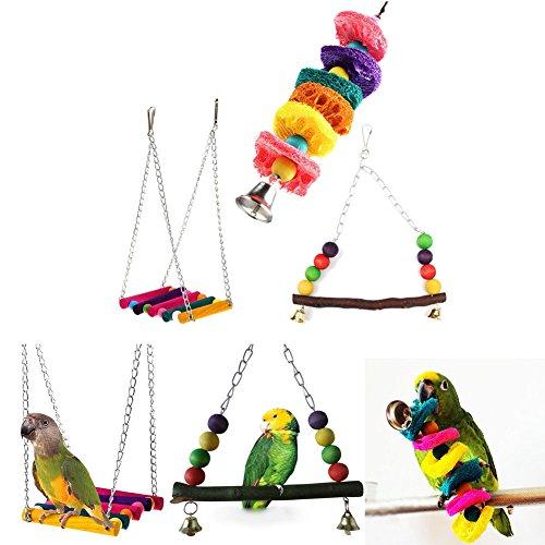 pet-bird-parrot-parakeet-budgie-cockatiel-cage-hammock-swing-hanging-chew-toy