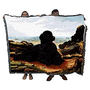 Pure Country Weavers - Newfoundland Woven Tapestry Throw Blanket with Fringe Cotton USA Size 72 x 54 7