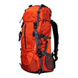 Topsky Outdoor Sports Camping Hiking Waterproof Internal Frame Backpack 40L 50L 60L Unisex Large Travel Trekking Daypacks with Rain Cover