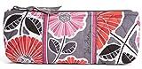 Vera Bradley Brush and Pencil Makeup Bag in Cheery Blossoms by Vera Bradley