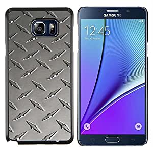 """For Samsung Galaxy Note5 / N920 , S-type Metal de uñas textura"""" - Arte & diseño plástico duro Fundas Cover Cubre Hard Case Cover"""