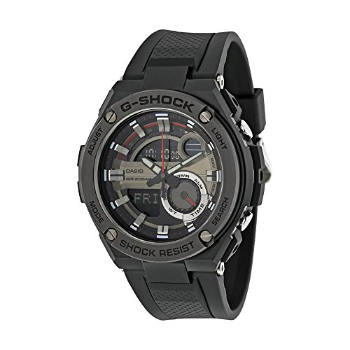 G Shock G Steel GST 210B 1A Black Size