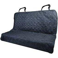 "Pet Dog Seat Cover Car Suv Van Back Rear Bench Protector Mat 55"" X 47"" Black"