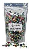 hard candies fruit flavored - Chipurnoi Glitterati Fruit & Berry Medley Miniature Hard Candies (SUGAR) 1lb