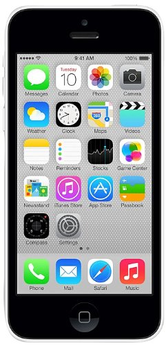 Apple iPhone 5C 16 GB Unlocked, White International Version