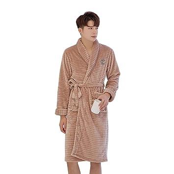 7ccab9f71ac LW Robe pour Femme en Flanelle pour Hommes