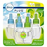 Febreze Plug In Air Freshener Scented Oil Refill, Gain Original Scent Set, 3 Count