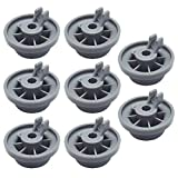 Geengle 165314 8-Pack Dishwasher Lower Rack Wheel Replacement for Bosch and Kenmore Dishwasher, Replaces 00420198 420198 PS3439123