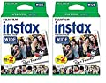 Fuji Wide Instant Color Film Instax for 200/210 Cameras - 2 Twin Packs - 40 P... from FUJIFILM