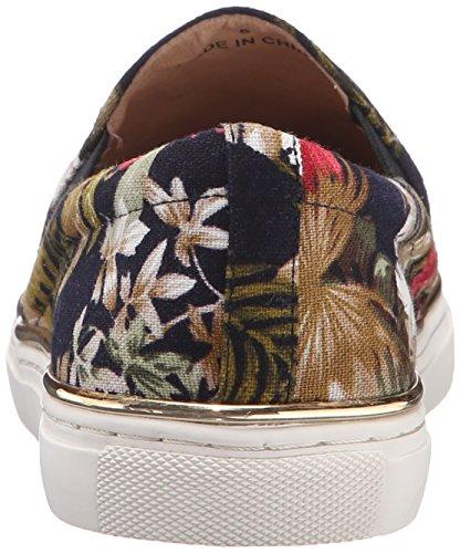 J Glider Jslides Womens Kamel Mode Sneaker Svart