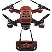 Skin for DJI Spark Mini Drone Combo - Prove Them Wrong| MightySkins Protective, Durable, and Unique Vinyl Decal wrap cover | Easy To Apply, Remove, and Change Styles | Made in the USA