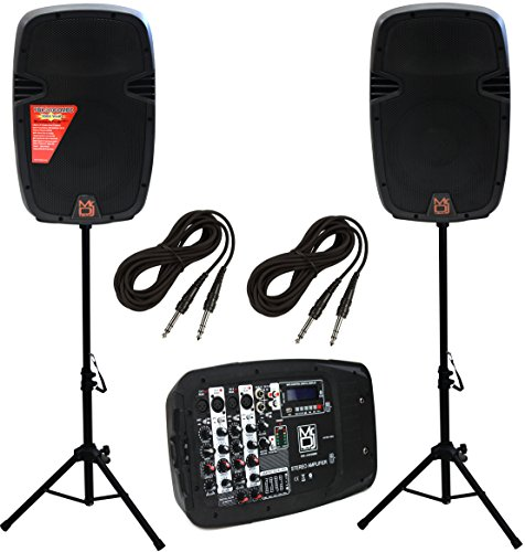 Mr. Dj PBX210COMBO Channel PA System (Complete Pa System Package compare prices)