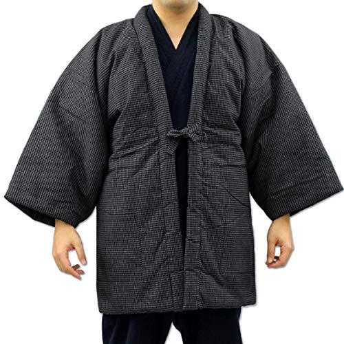 남성용 한텐 문인무늬 중면-안솜 일본제(MADE IN JAPAN)