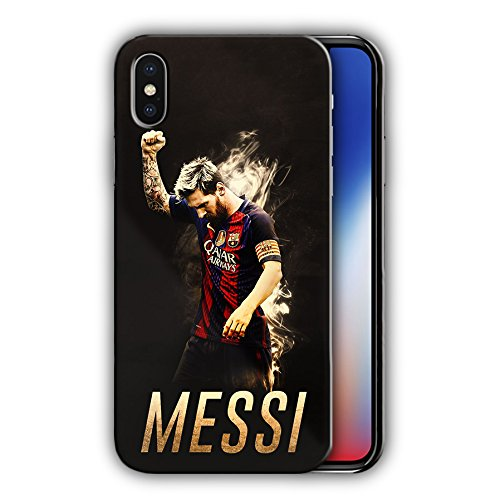 Hard Case Cover with elebrity design for Iphone X 5.8in (messi10)
