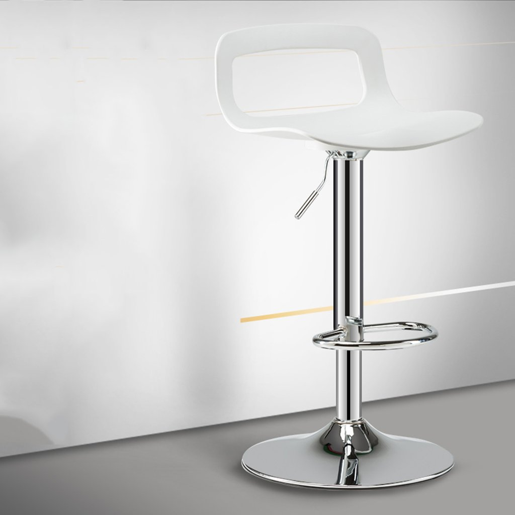 FEI Bar Chair Breakfast Stool Accesorios de Metal/Giratorio/Altura Regulable Trona (Tamaño : Chassis 38.5CM)