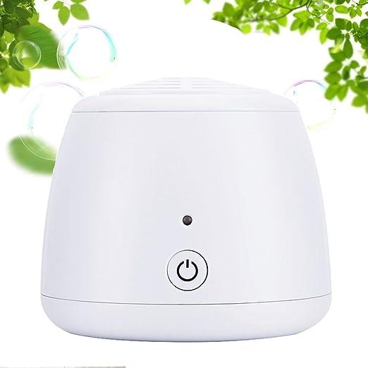 Blanco Mini Ozonizador Portátil Exhalando Ozono para Quitar el Mal ...