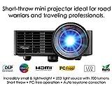 Optoma ML750ST Ultra-Compact 700 Lumen WXGA Short