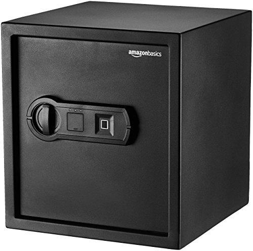 AmazonBasics Biometric Fingerprint Home Safe, 1.2 Cubic Feet