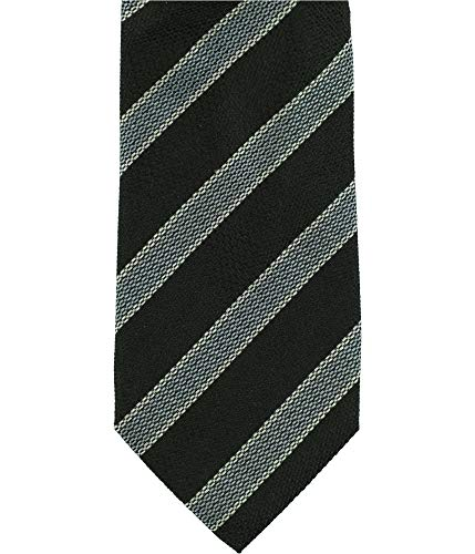 Tasso Elba Men's Stripe Silk Tie (Blue, ONE SIZE)