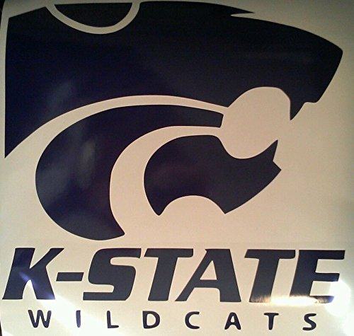 Kansas State Wildcats Cornhole Decals - 2 Cornhole Decals Vinyl Decals by The Cornhole King