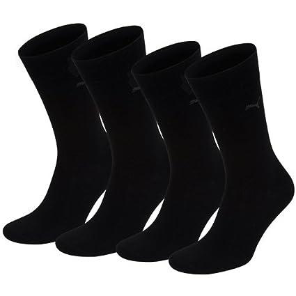 PUMA Herren Classic Casual Business Socken 4er Pack black black 200 4346