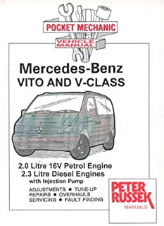 workshop service manual mercedes benz vito and v class cdi models rh amazon co uk mercedes vito 112 cdi service manual Mercedes-Benz Vito 2002
