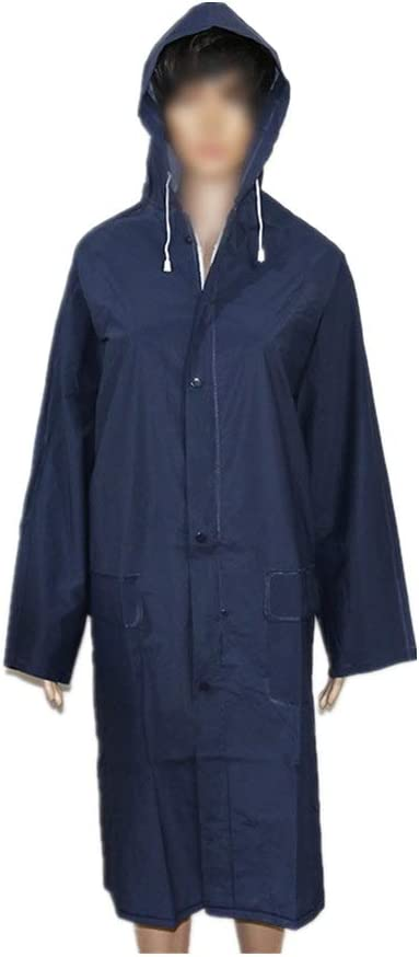 Fanuosu-HE Men Raincoat Raincoat Poncho Waterproof Rain Poncho Lightweight Reusable Hiking Rain Coat Jacket Yellow Reusable Best for Outdoor Activities Color : Yellow, Size : L