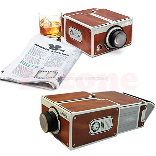 JohnnyBui - Portable Cardboard Smartphone Projector 2.0 DIY Mobile Phone Cinema Theater Projection accessories N22 from JohnnyBui