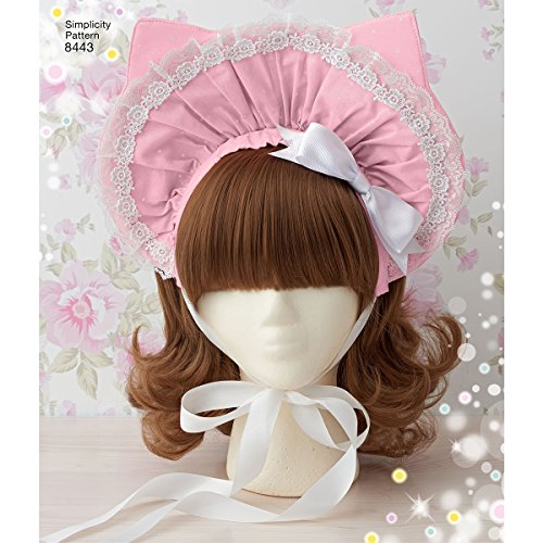 Simplicity Pattern 8443 Misses' Hair Accessories, Purses and Medallions by Elaine Heigl (One Size)