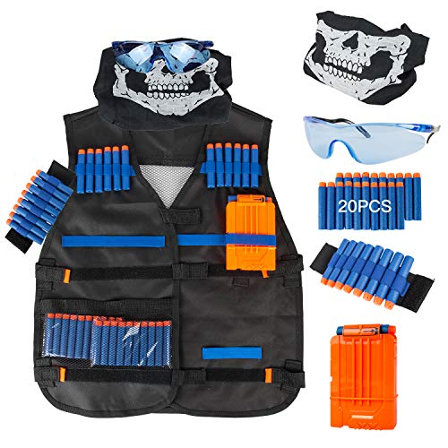 Little Valentine Tactical Vest Kit for Nerf Guns N-Strike Elite Series