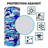 5 Pack Summer Neck Bandana UV Sun