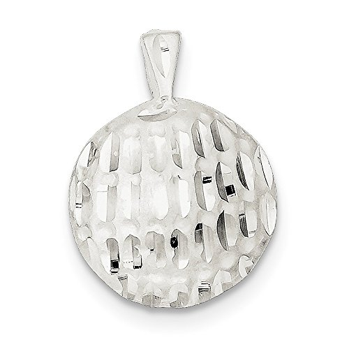 925 Sterling Silver Golf Ball Pendant Charm Necklace Sport Fine Jewelry Gifts For Women For Her