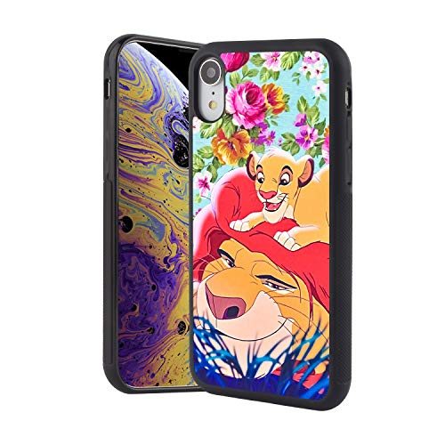ba93039f11f DISNEY COLLECTION Phone Case Compatible iPhone Xr Lion King and Son  Reinforced Drop Protection Hard PC