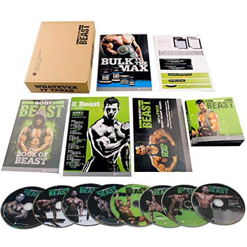 BODY Beast Workout Program Fitness Exercise 8 DVD Base Kit by BODY